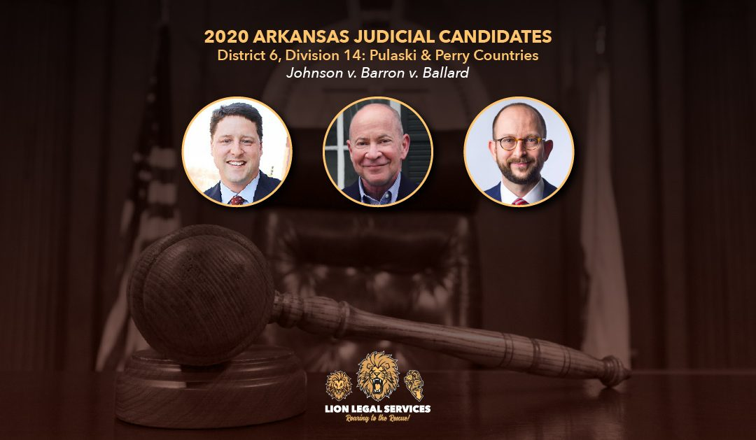 2020 Judicial Candidates for Arkansas District 6, Div. 14