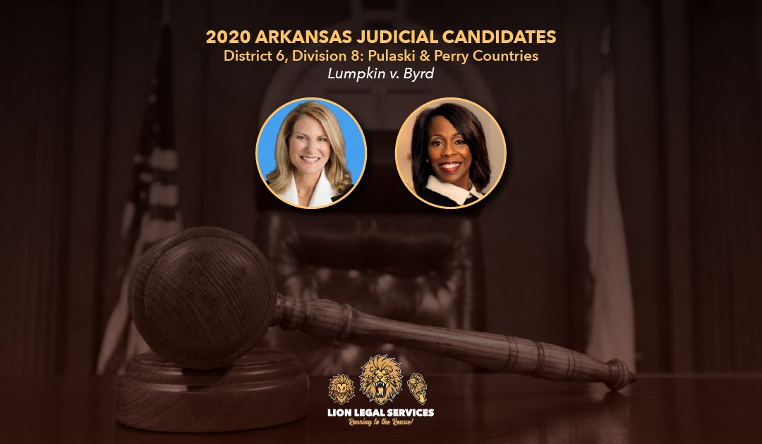 2020 Judicial Candidates for Arkansas District 6, Div. 8