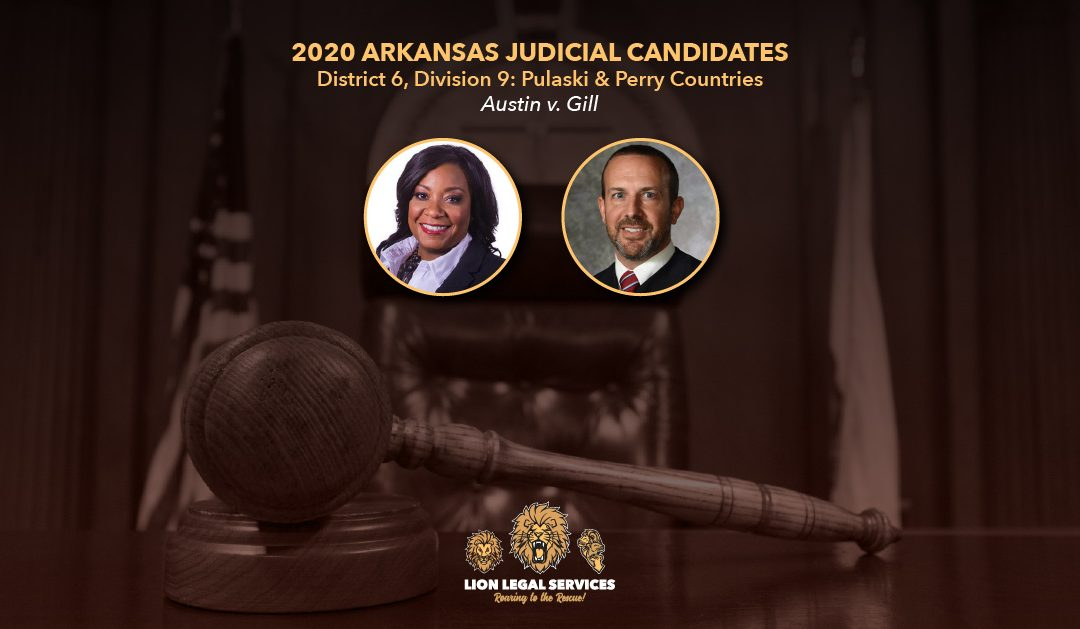 2020 Judicial Candidates for Arkansas District 6, Div. 9
