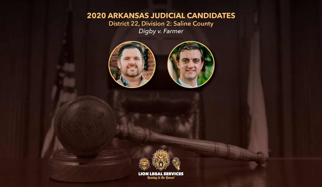 2020 Judicial Candidates for Arkansas District 22, Div. 2