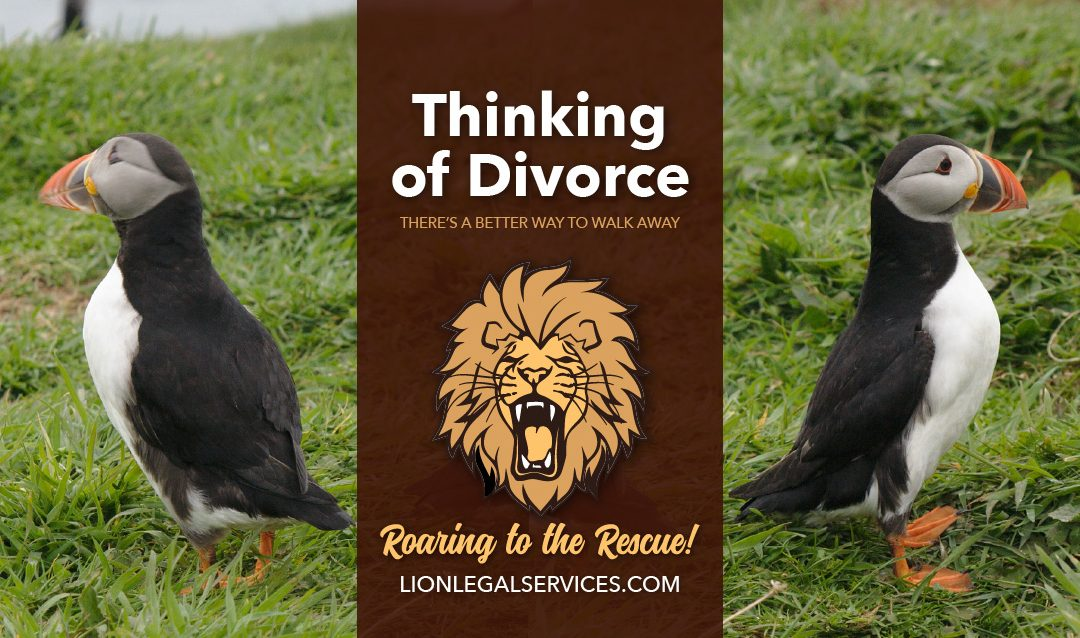 Thinking Of Divorce: A Better Way To Walk Away