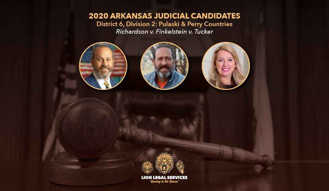 2020 Judicial Candidates for Arkansas District 6, Div. 2