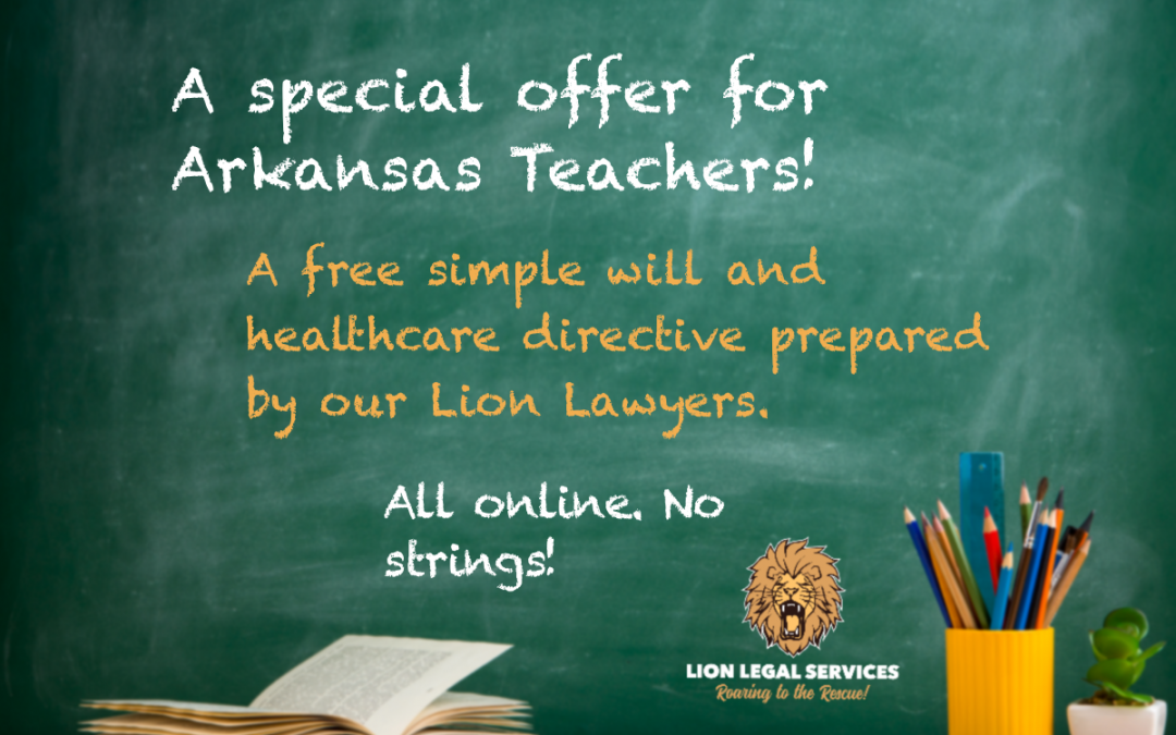 Arkansas Teachers: A Special Offer