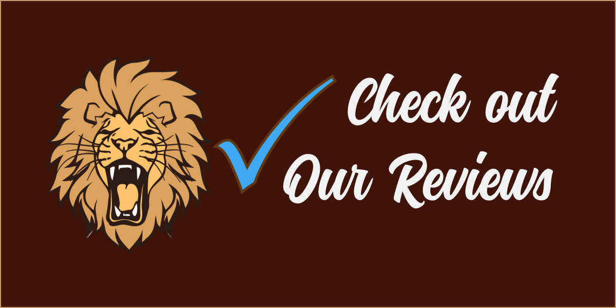 "Graphic ""Check out our Reviews"""